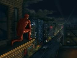 Fan art based on tv series.