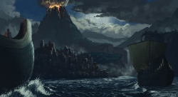 treasure quest 01, concept paint for personal project.