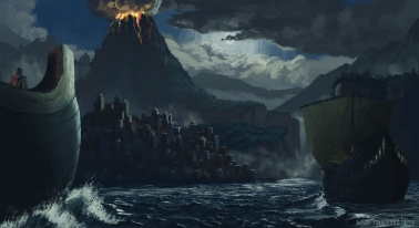 Concept paint for personal project